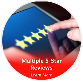 multiple 5 star reviews