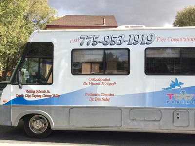 mobile orthodontic clinic in dayton carson city and carson valley